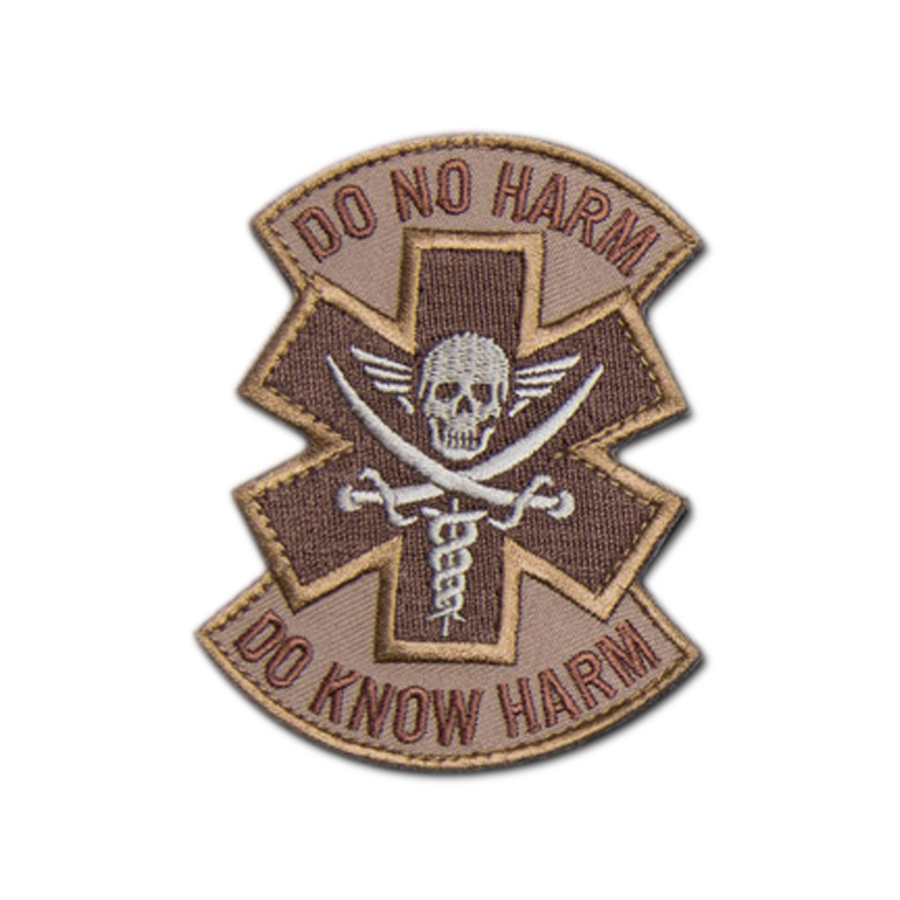 MilSpecMonkey Patch Do No Harm Pirate desert