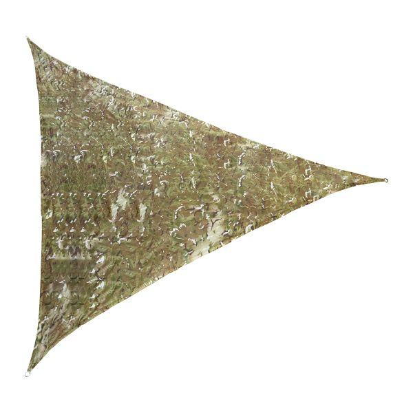 Abdeckplane / Sonnensegel Camouflage 4 x 4 x 4 m