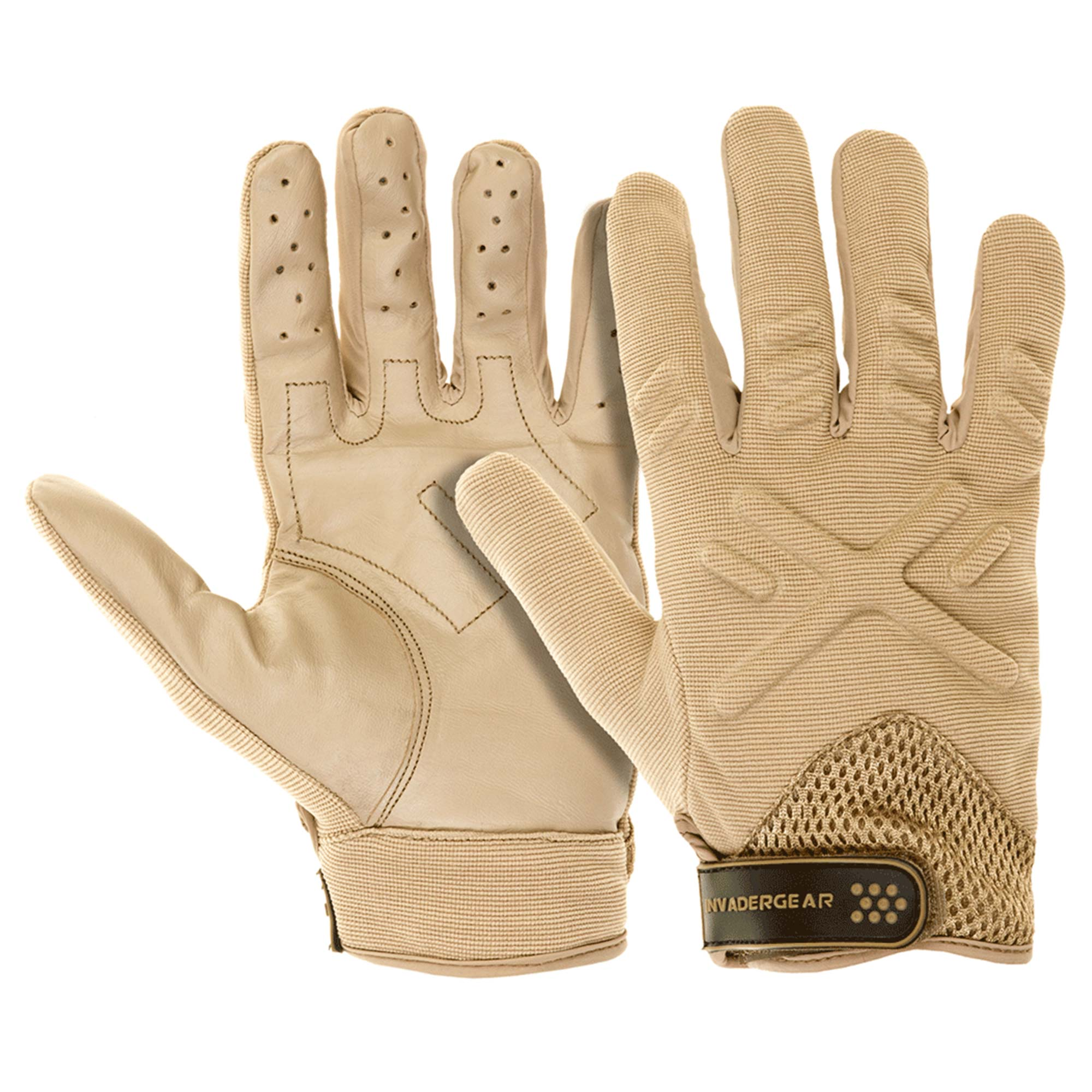 Invader Gear Handschuhe Shooting coyote
