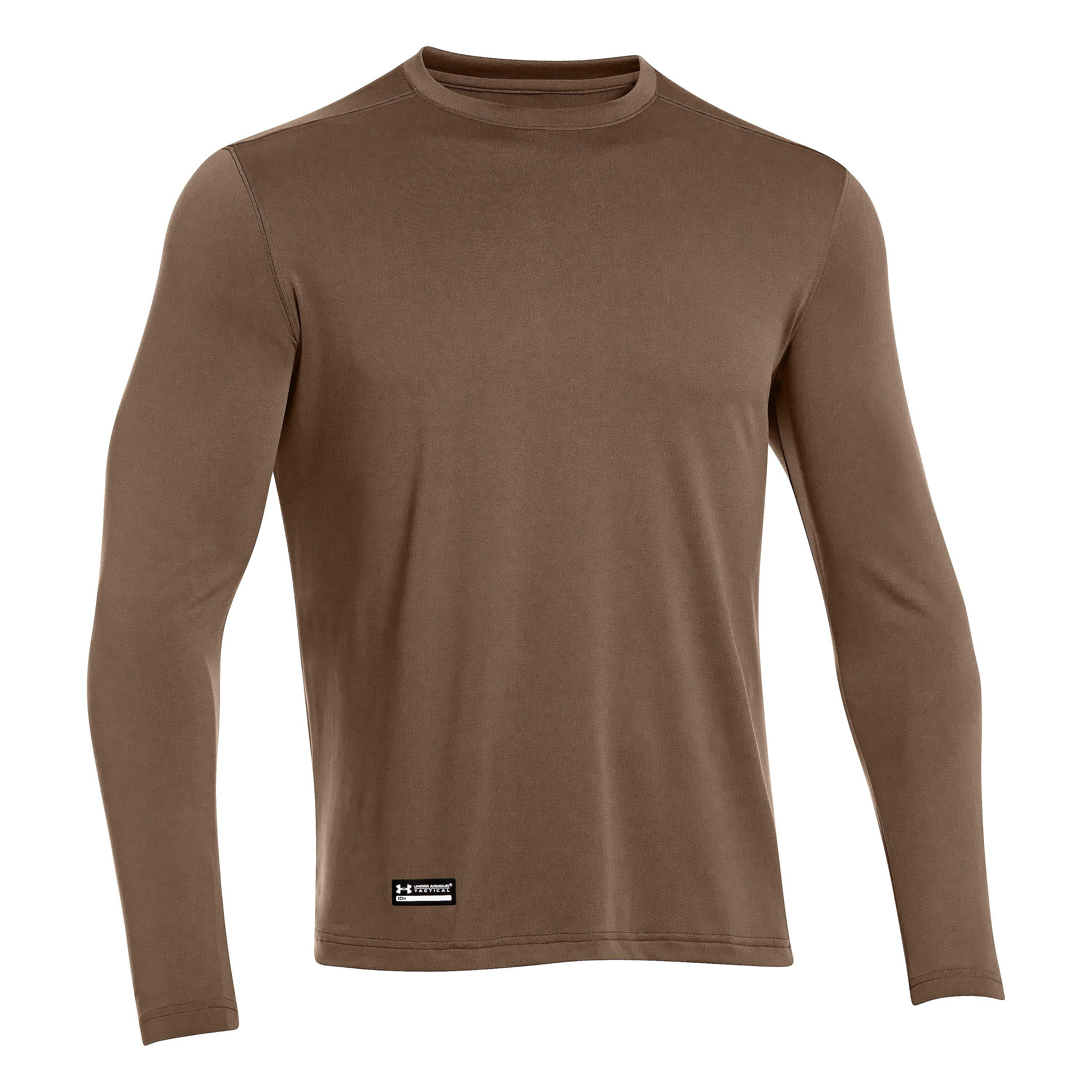 Langarmshirt Under Armour Tactical Heat Braun