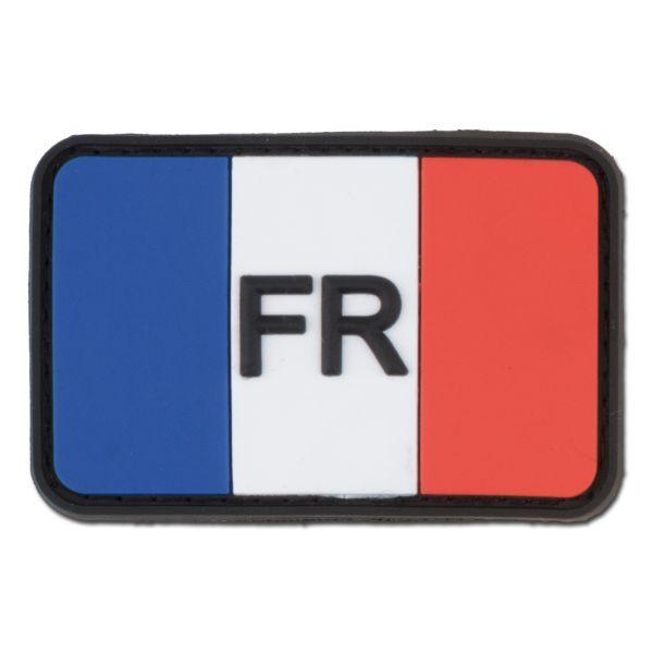 3D-Patch Frankreich mit Ländercode