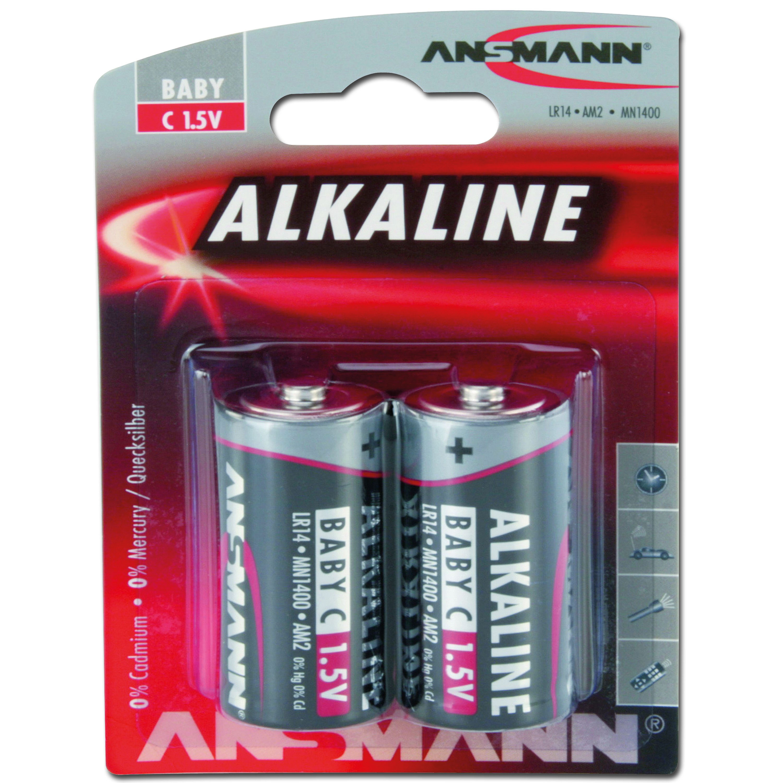 Batterie Ansmann Baby C Red-Line 2er-Pack