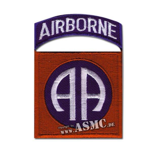 Abzeichen US Textil 82nd Airborne Tab