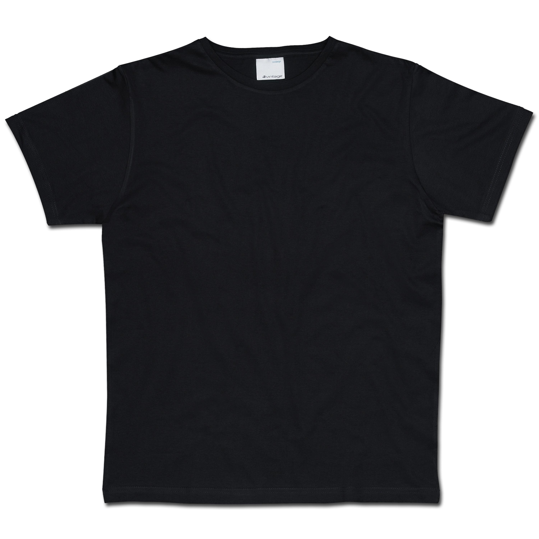 T-Shirt Vintage Industries Marlow schwarz