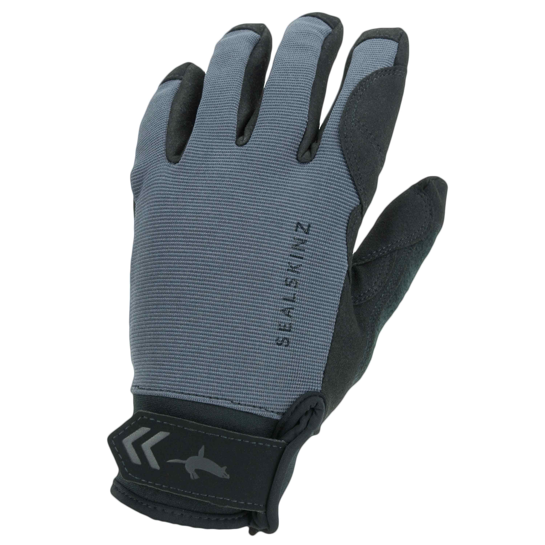 Sealskinz Handschuhe Waterproof All Weather grau schwarz