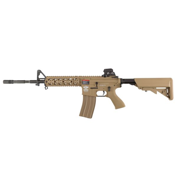 G&G Airsoft Gewehr CM16 Raider L 1.4 J S-AEG desert