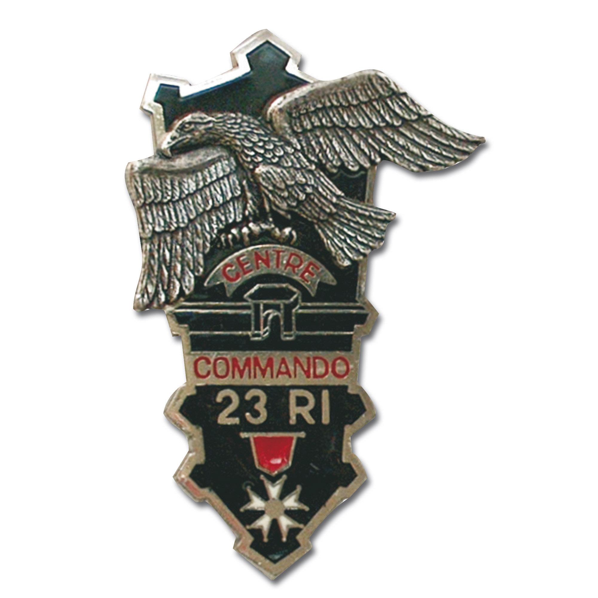 Abzeichen franz. Commando CEC 23e RI