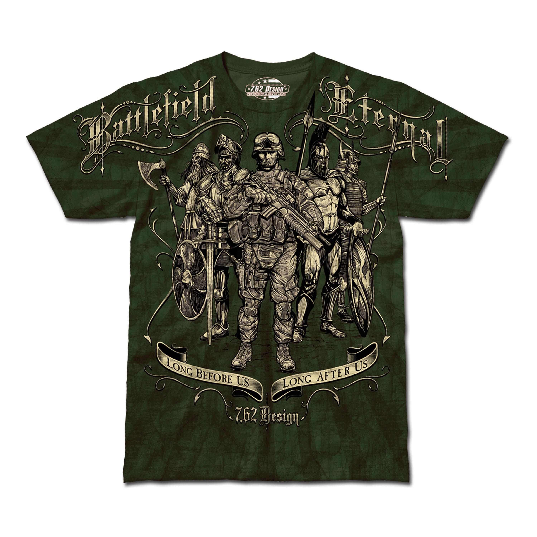 T-Shirt Battlefield Eternal oliv