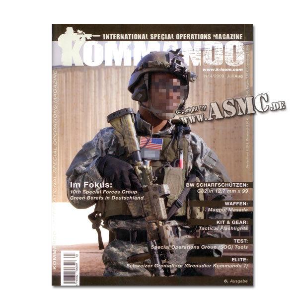 Kommando Magazin K-ISOM Ausgabe: 06