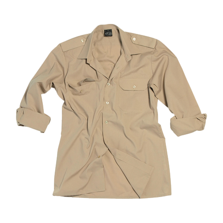 Diensthemd langarm khaki