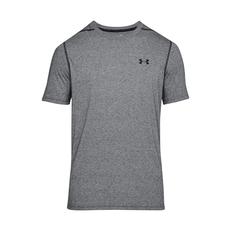 Under Armour Shirt Threadborne Fitted grau meliert