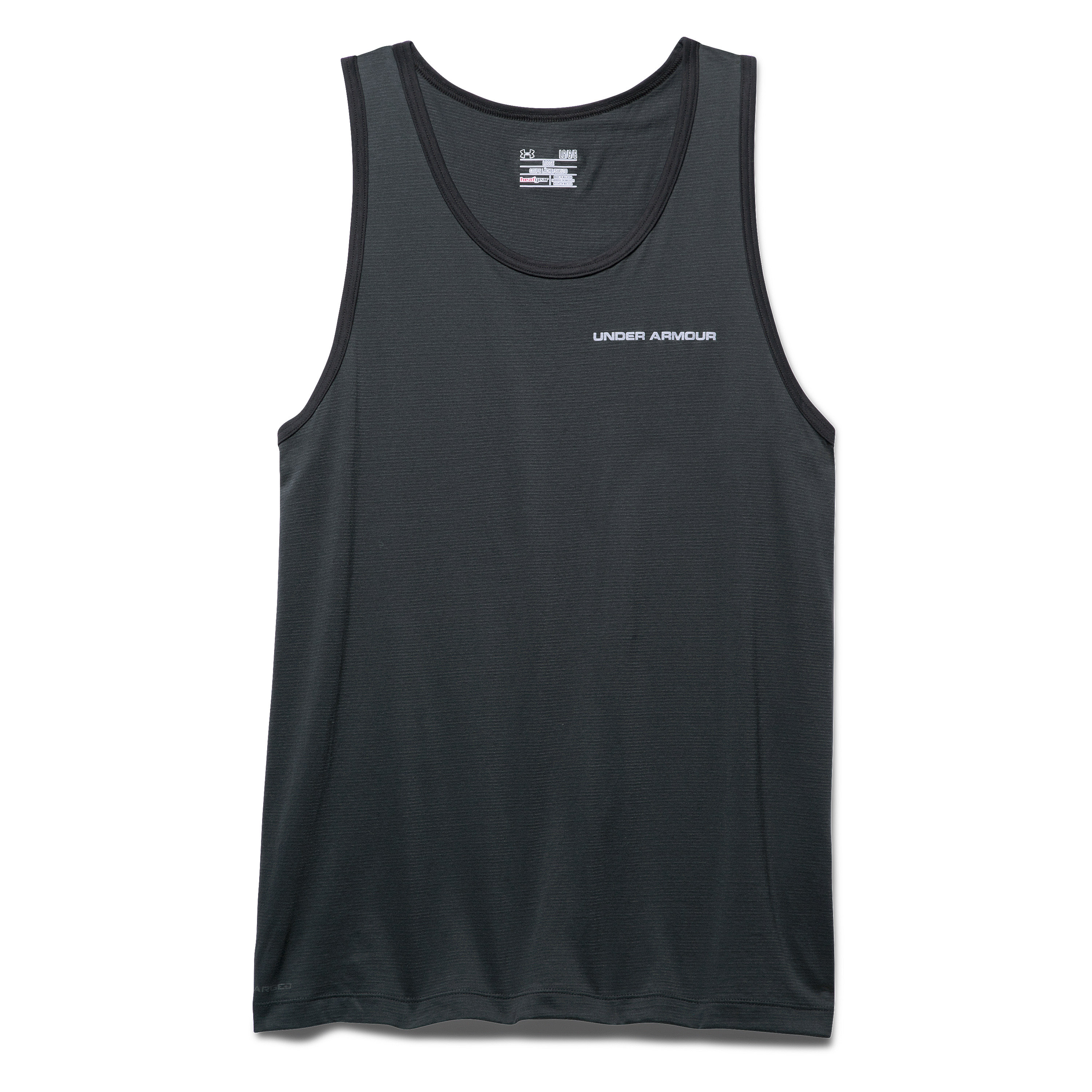 Under Armour Tank-Top Charged Cotton anthrazit-grau