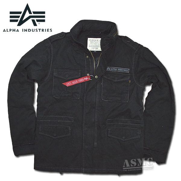 Alpha Jacke Combat CW II schwarz