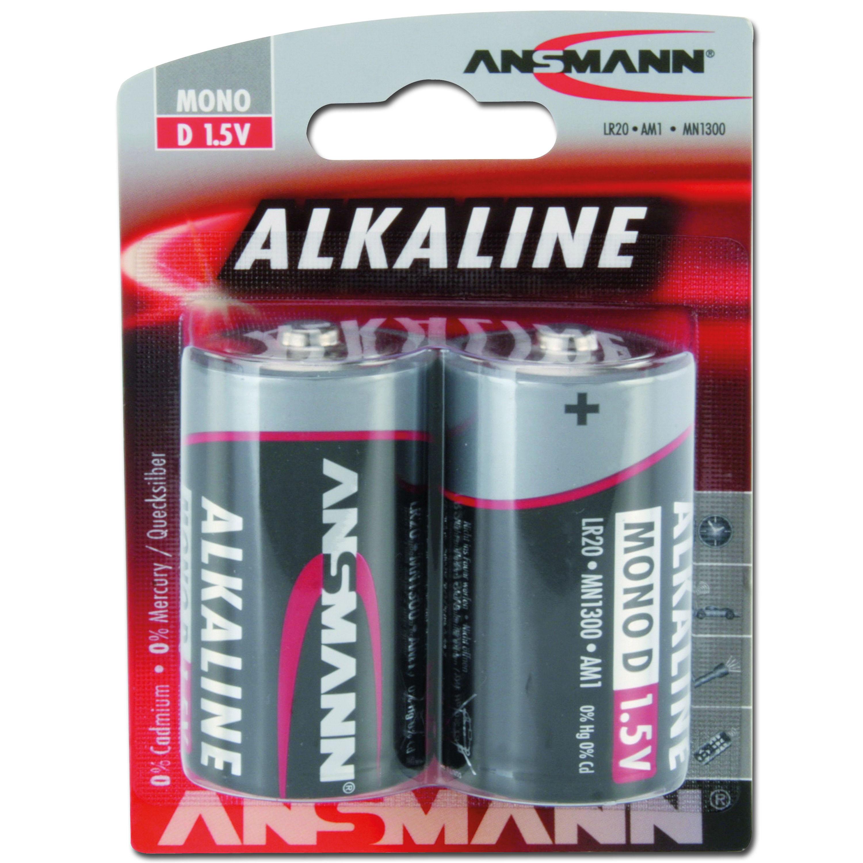Batterie Ansmann Mono D Red-Line 2er-Pack