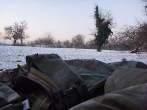 Bivouac hivernal - situation