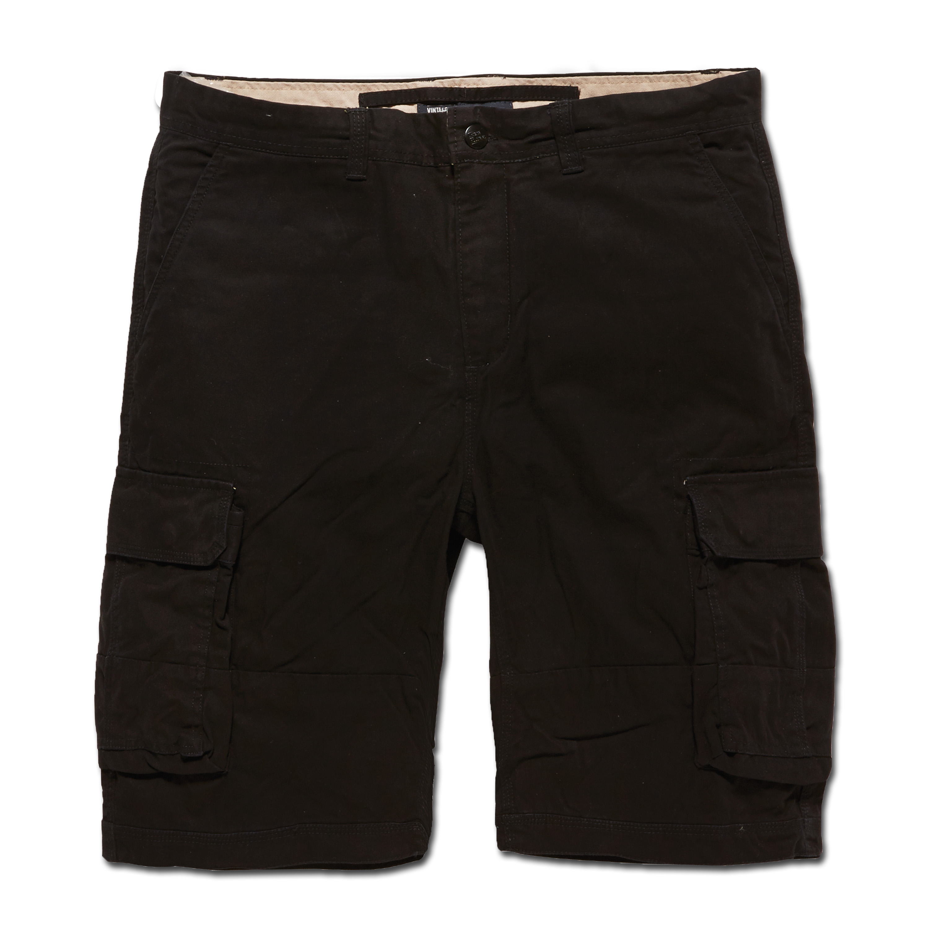 Vintage Industries Shorts Hewitt schwarz