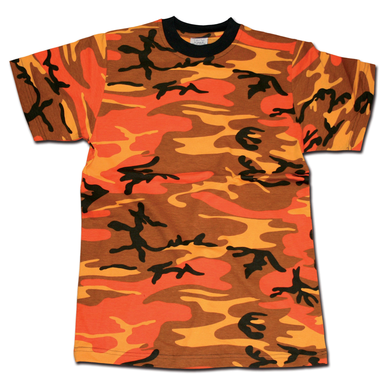 T-Shirt MMB orange-camo