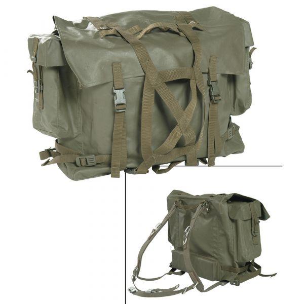 Schweizer Rucksack M90 gummiert neuwertig