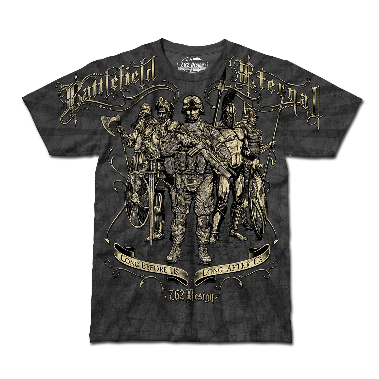 T-Shirt Battlefield Eternal grau