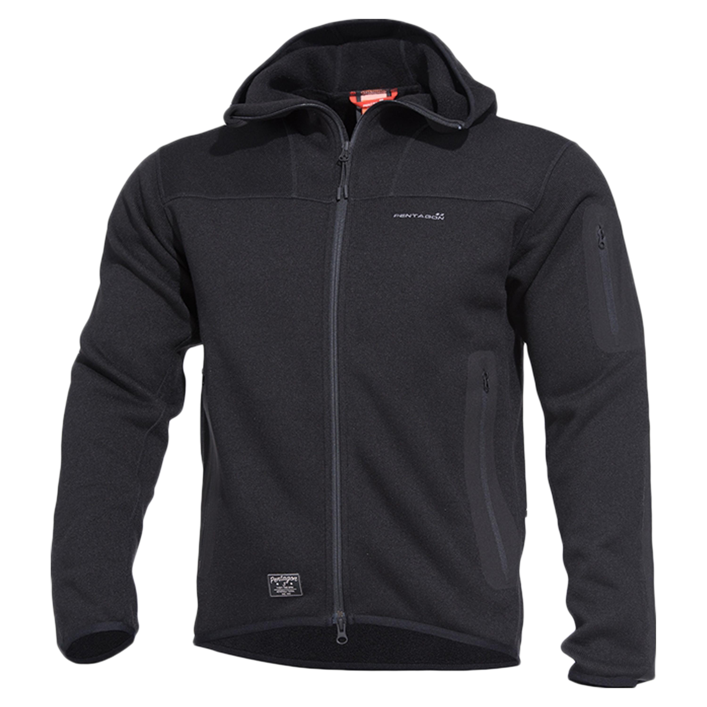 Pentagon Hooded Sweater Falcon 2.0 tactical schwarz