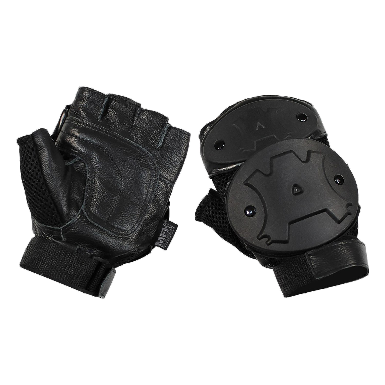 MFH Handschuh Halbfinger Tac Protector schwarz