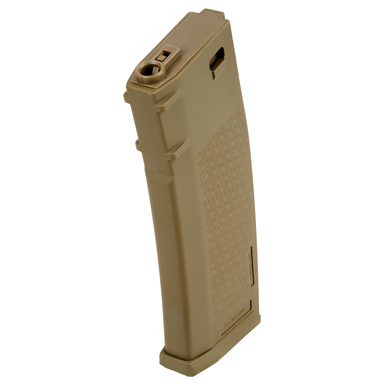 Specna Arms Magazin M4 / AR15 S-Mag Midcap 120 Schuss tan