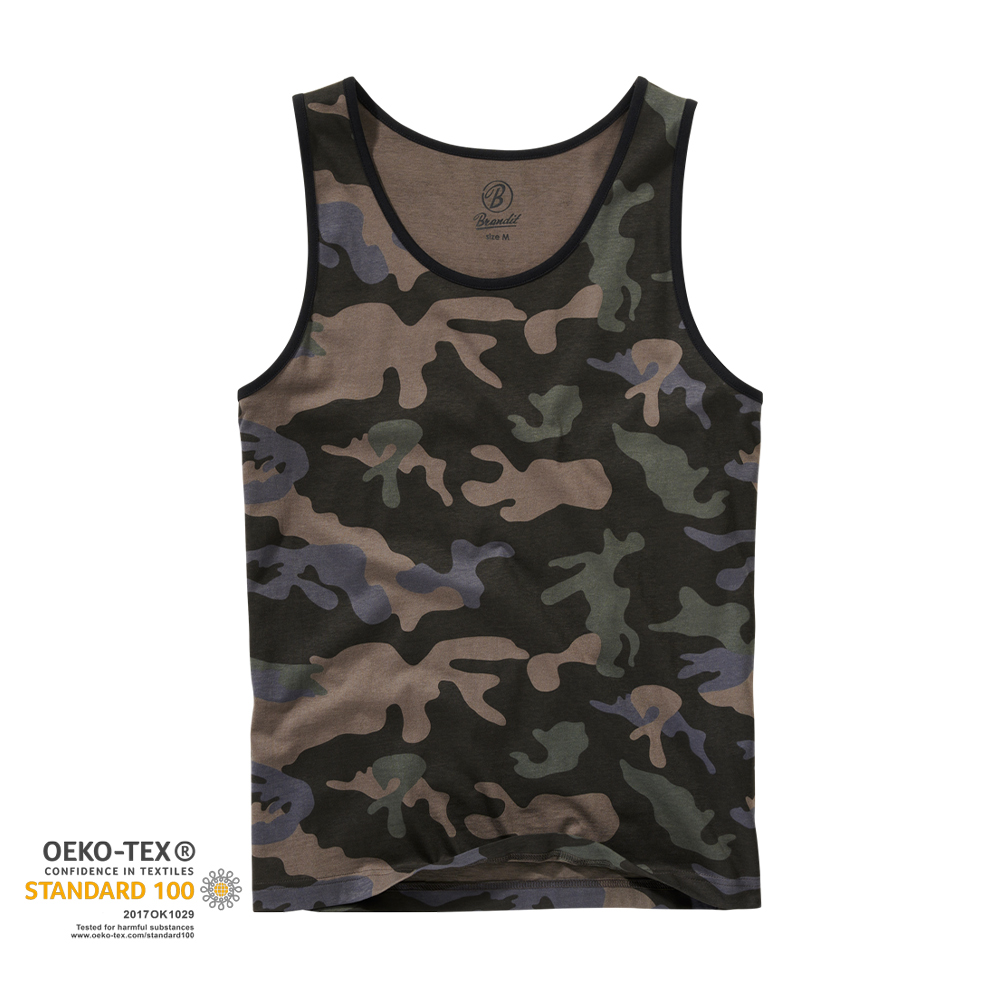 Brandit Tank Top darkcamo