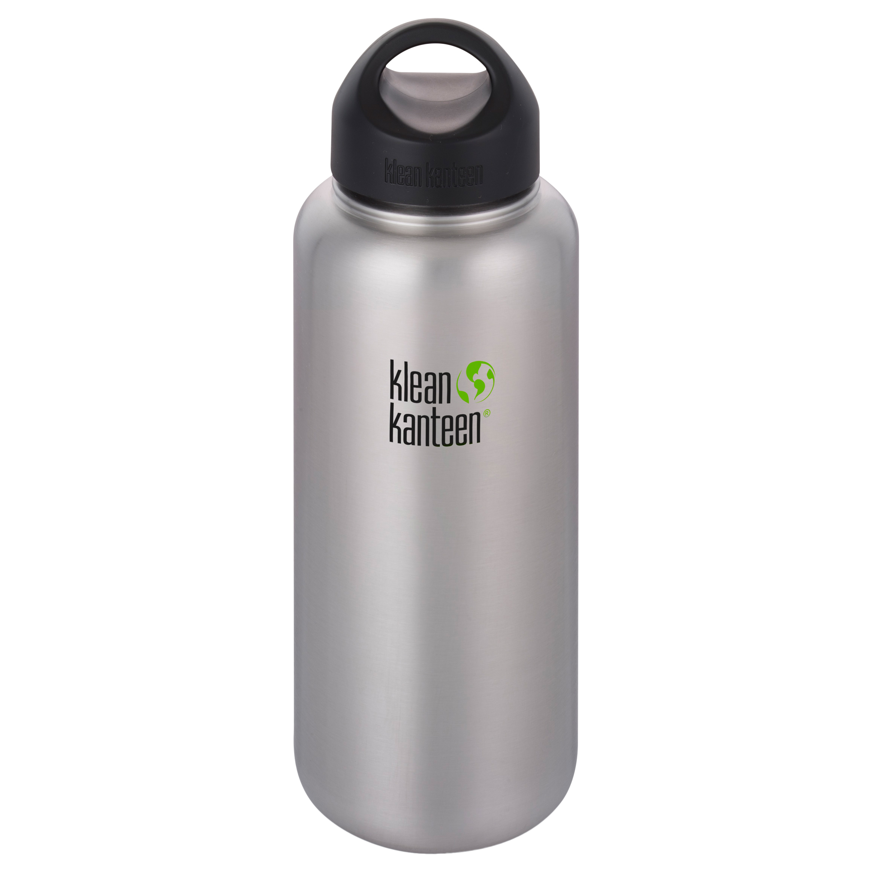 Klean Kanteen Trinkflasche Wide 1182 ml brushed stainless
