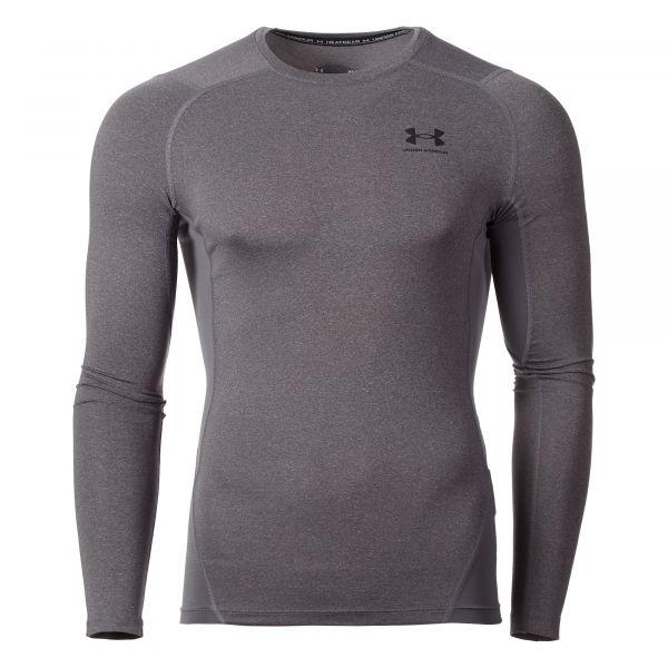 Under Armour Shirt HG Armour Comp LS carbon heather