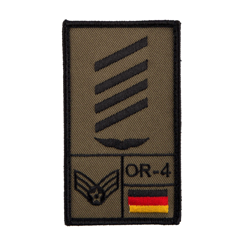 Café Viereck Rank Patch Stabsgefreiter Luftwaffe oliv
