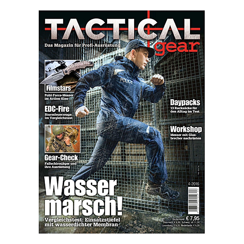 Magazin Tactical Gear 4/2016