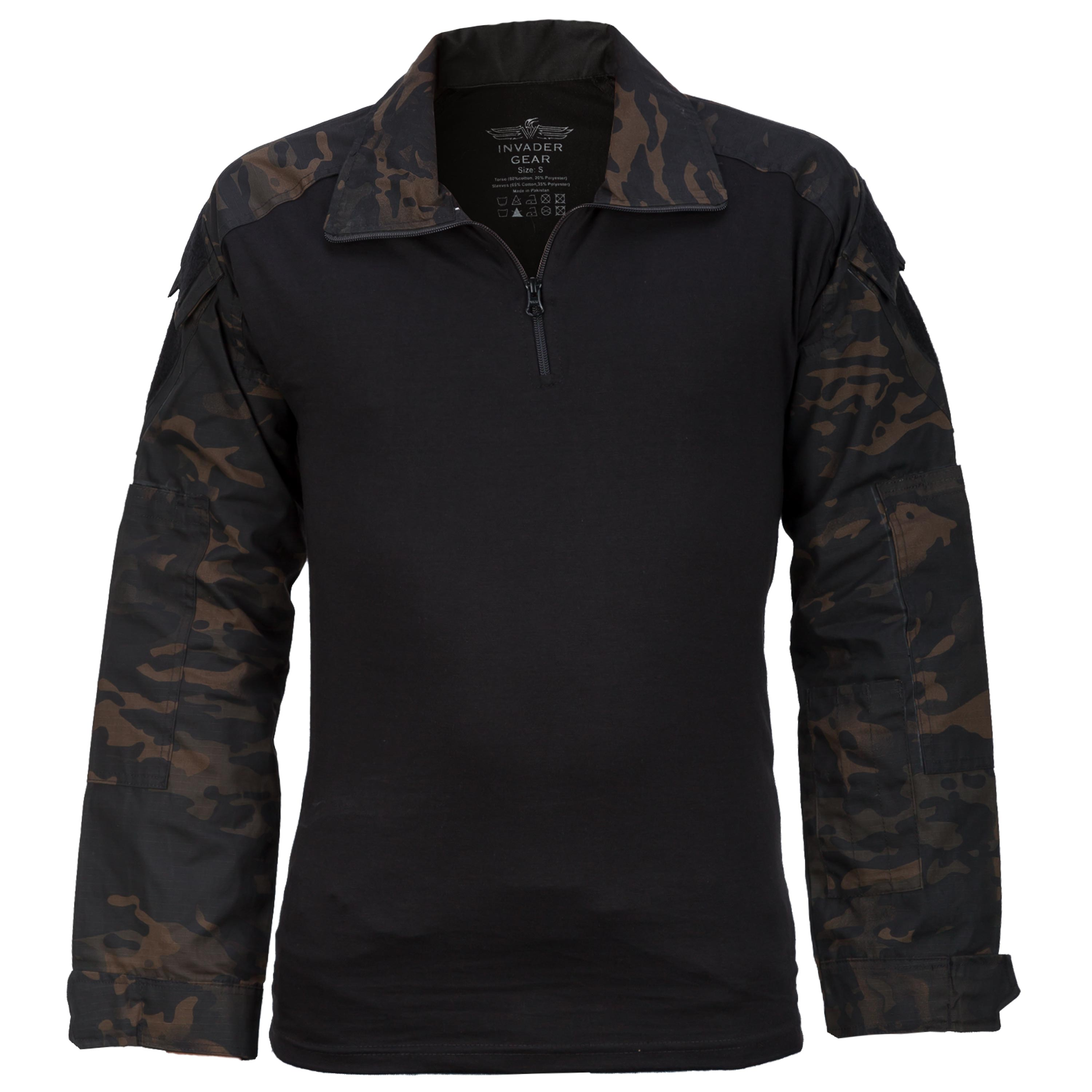 Invader Gear Combat Shirt atp black