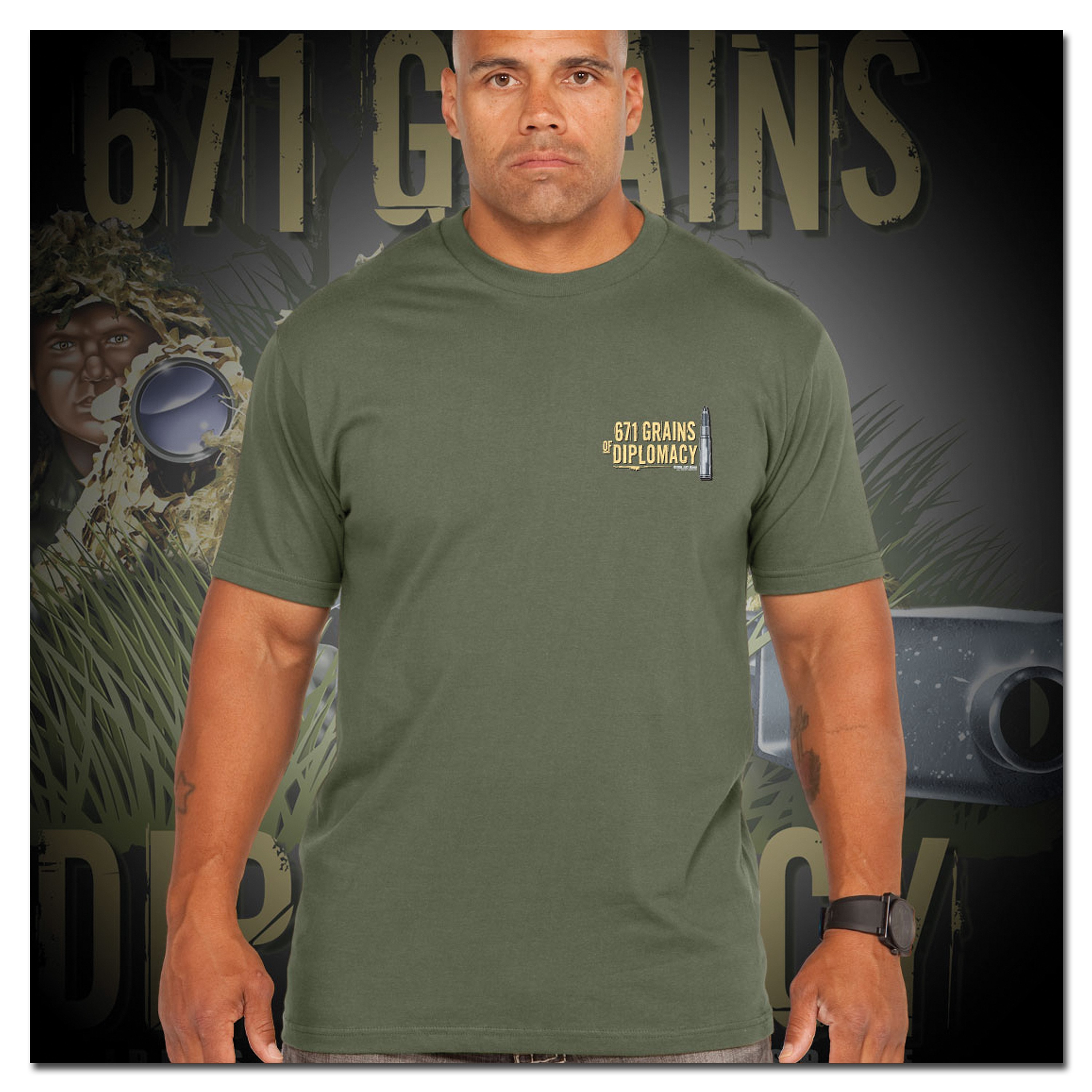 Titanen T-Shirt Sniper Team