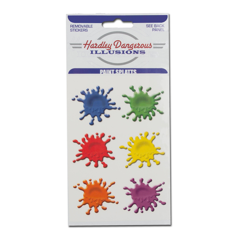 Sticker Hot Shots Paintball Splatts