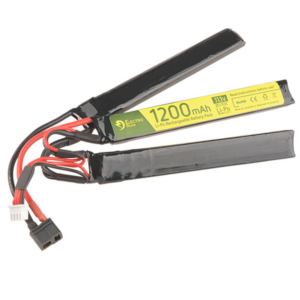 Electro River Li-Po Akku 11.1 V 1200 mAh Triple Stick Type 25/50