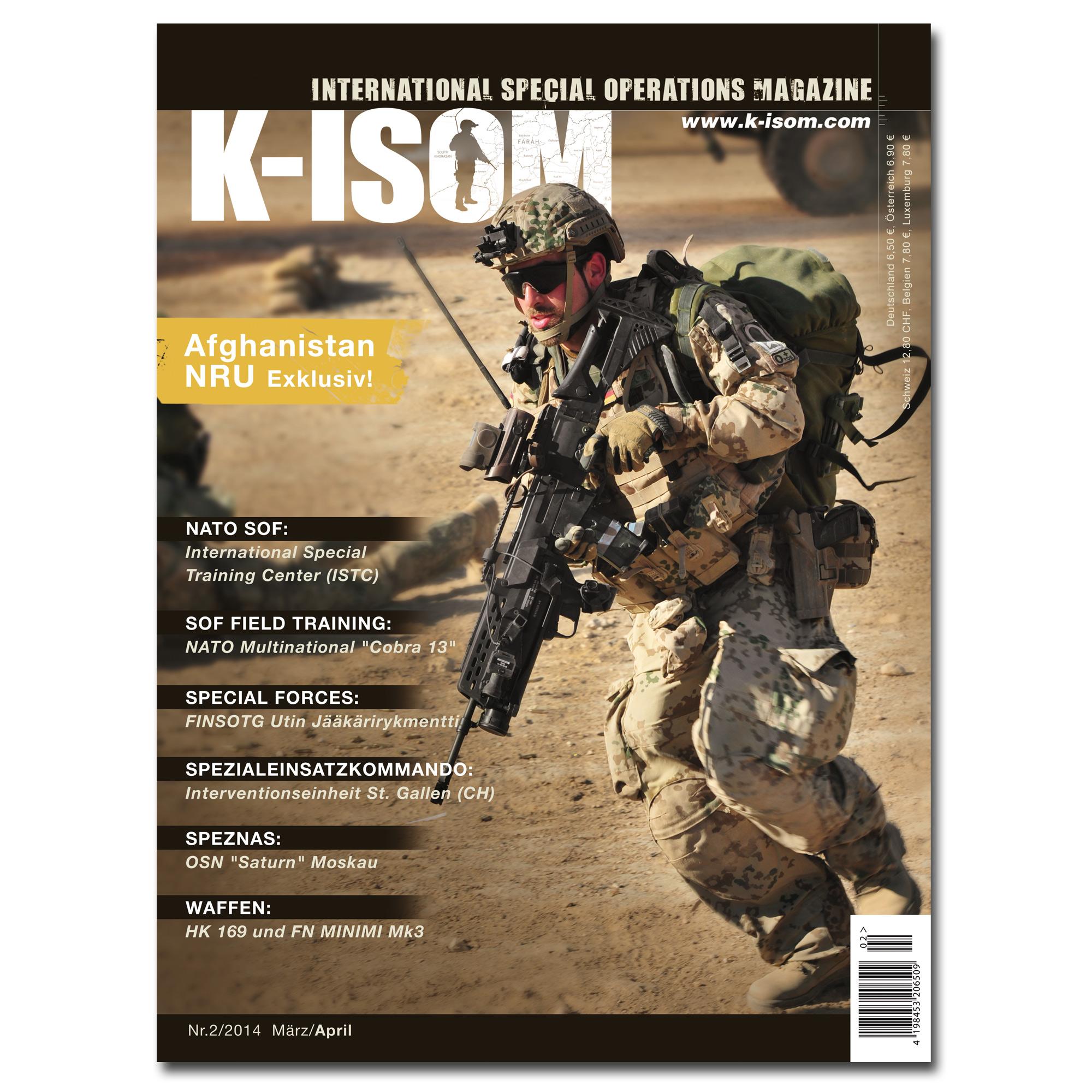 Kommando Magazin K-ISOM Ausgabe 02-2014