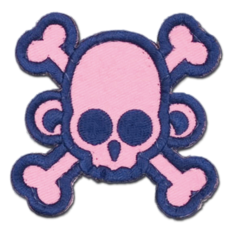 MilSpecMonkey Patch Skullmonkey Crossbones girly