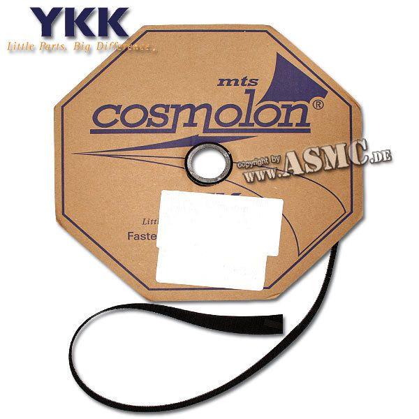 Klettband schwarz 2-tlg. 20 mm (Meterware)