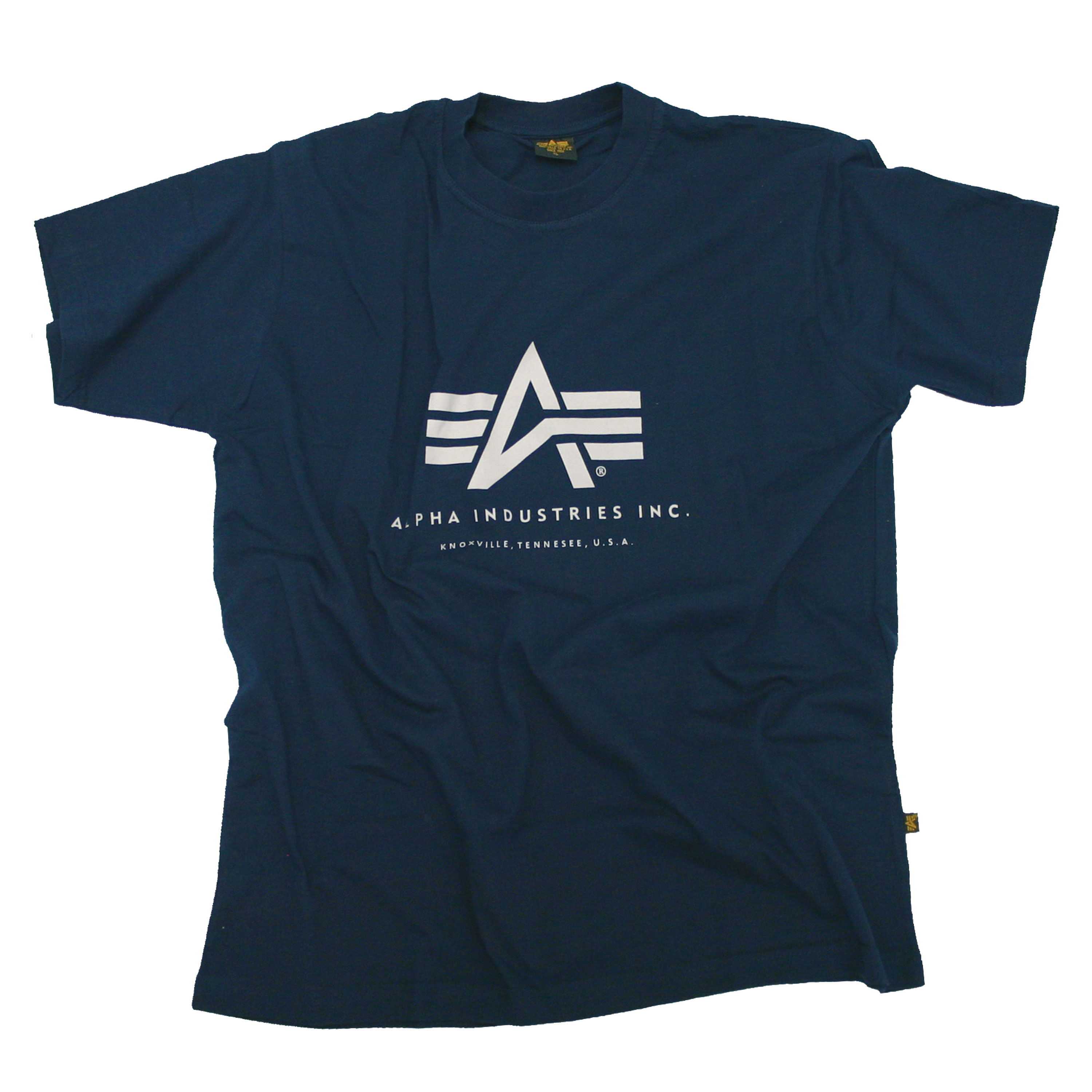 T-Shirt Alpha Industries Basic blau