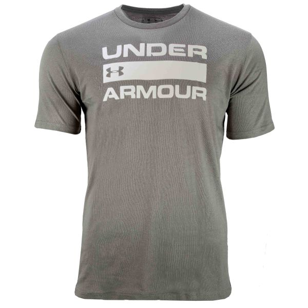 Under Armour Shirt Team Issue Wordmark SS gravity green