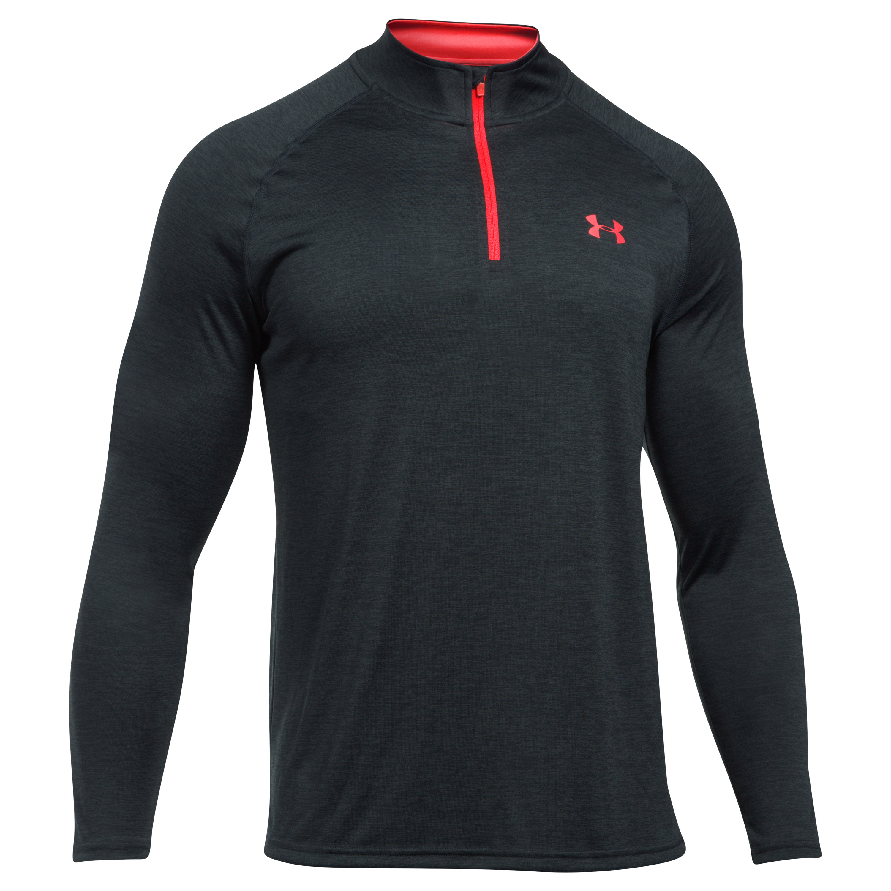 Under Armour Pullover Tech Novelty Quarter Zip schwarz rot