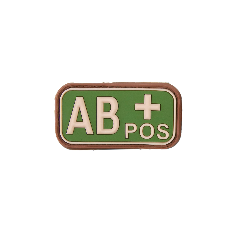 3D Blutgruppenpatch AB Pos multicam
