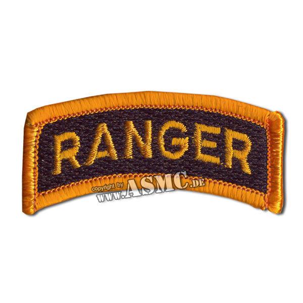 Armabzeichen Ranger gold/schwarz