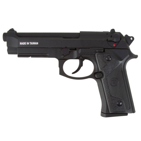 KJ Works Airsoft Pistole M9 Vertec Full Metal GBB schwarz