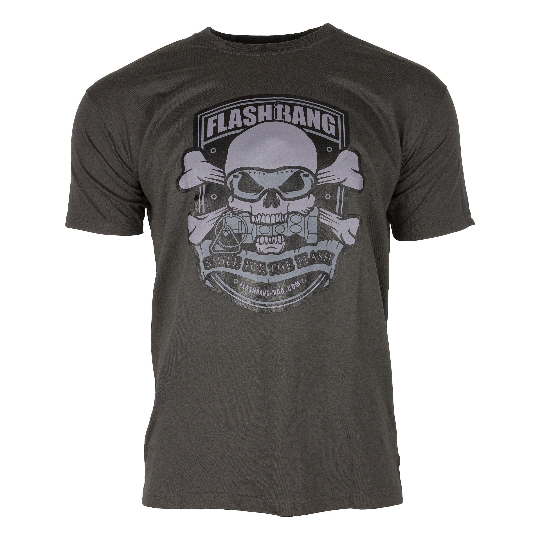 Flashbang Magazine T-Shirt Smile for the Flash