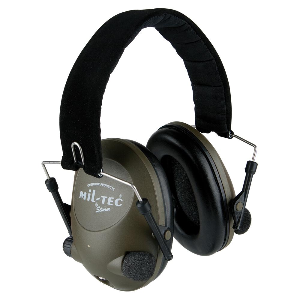 Elektronischer Gehörschutz Mil-Tec oliv