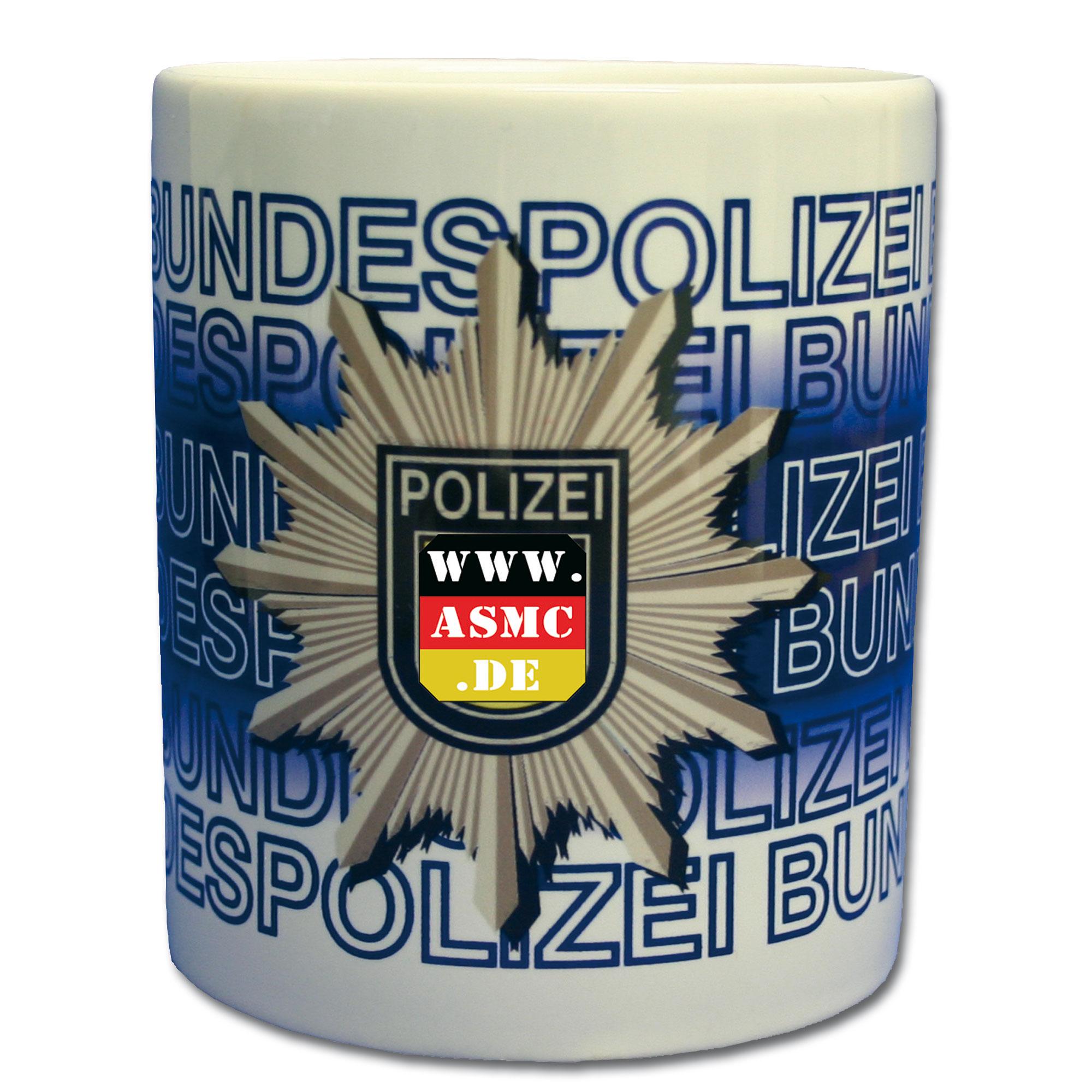 Tasse Bundespolizei