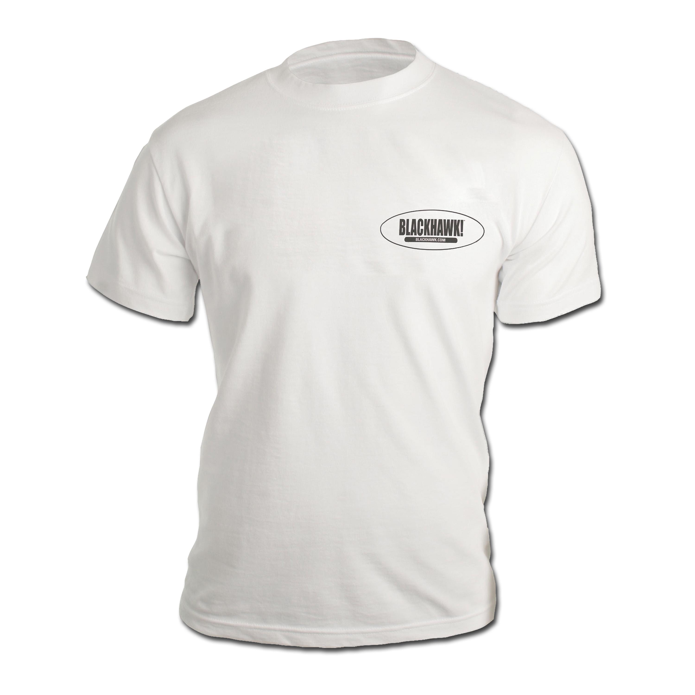 T-Shirt Blackhawk Branded kurzarm weiss