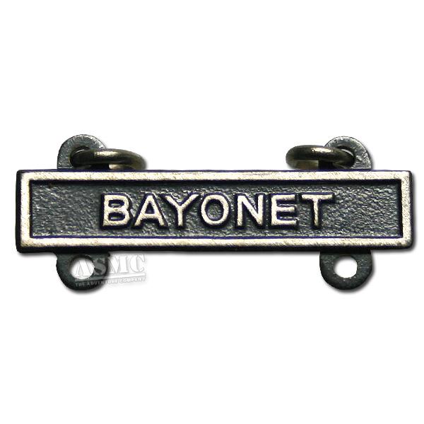 Abzeichen US Qualification Bar Bayonet