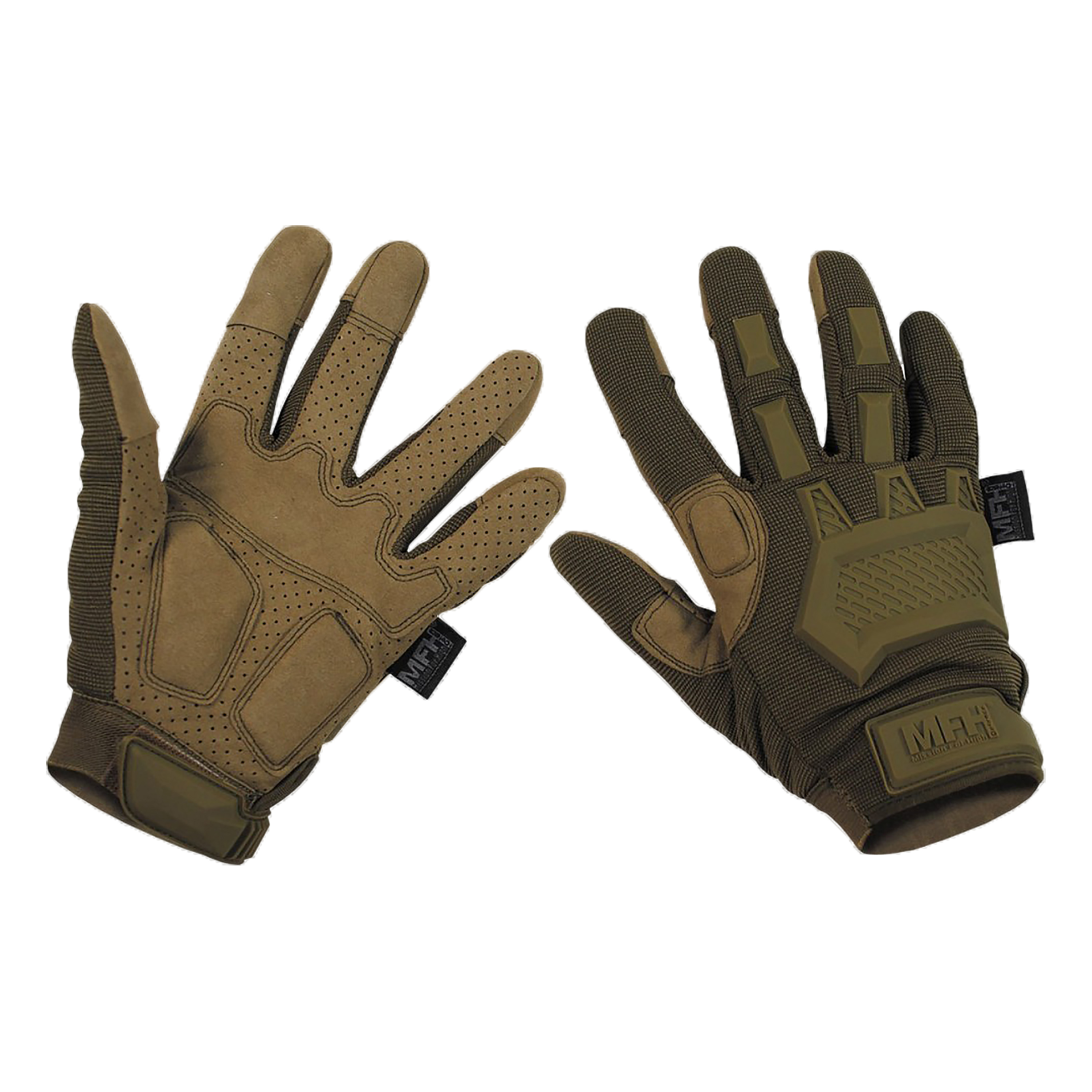 MFH Tactical Handschuhe Action coyote